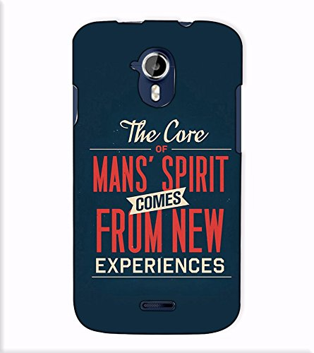 Fuson Designer Back Case Cover for Micromax Canvas Magnus A117 :: Micromax A117 Canvas Magnus (The Core Of Mans Spirit)  available at amazon for Rs.397