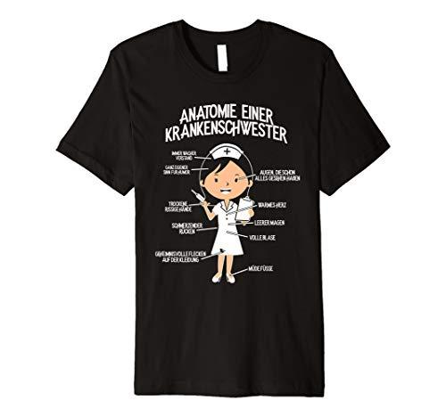 gerin T-Shirt: Krankenschwester-Anatomie ()