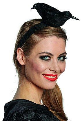 Rubies Rabe Haarreif Halloween Haarreifen