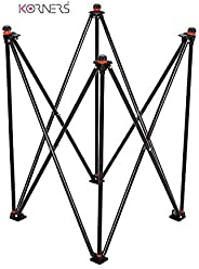 KORNERS Foldable Height Adjustable Carrom Board Stand Professional Easy Fold Hydraulic Premium Quality for Car