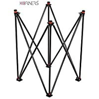KORNERS Foldable Height Adjustable Carrom Board Stand Professional Easy Fold Hydraulic Premium Quality for Carom