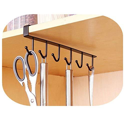 Dragon Hanging Hook Storage Rack Küche Organizer Halter Hanger by (Schwarz)