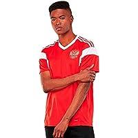 SODIAL Ropa deportiva de Copa Mundial para hombres Camiseta de futbol de Rusia Camisa de manga corta transpirable Uniformes de Jerseys Chandal de equipo de futbol de pareja (Hombres, XL)