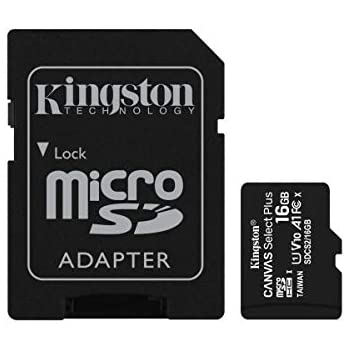Kingston SDCS/16GB Tarjeta de Memoria Sd 1, 16 gb, Negro ...