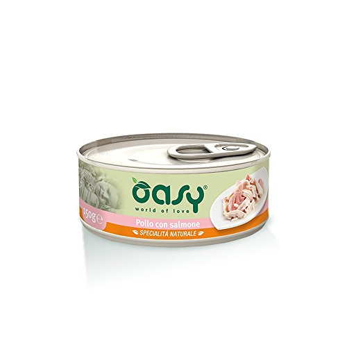 OASY geschmortes Huhn Lachs Katze 150 gr - Katzen Nassfutter