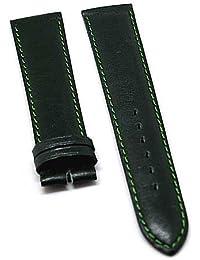 Reloj De Pulsera Fortis piel verde tono en 18mm Nuevo 8496