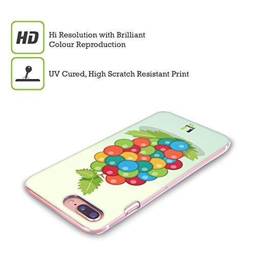 Head Case Designs Ananas Fruits Colorés Étui Coque D'Arrière Rigide Pour Apple iPhone 5c Raisins