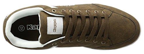 Kappa Kent Low Ii, Sneakers Basses Homme Marron (Brown/white)