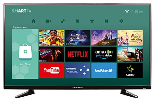 Kevin 102 cm (40 Inches) Full HD LED Smart TV KN40S (Black) (2019 Model)