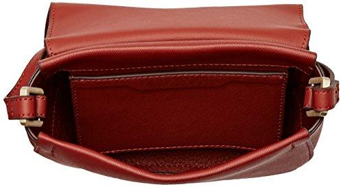 Calvin KleinMarissa Saddle Bag - Borsa a spalla Donna Marrone (Henna)