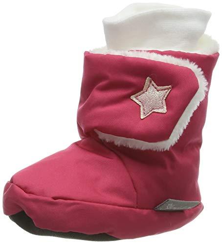 Sterntaler Mädchen Baby-Schuh Stiefel, Rot (Beerenrot), 17/18 EU