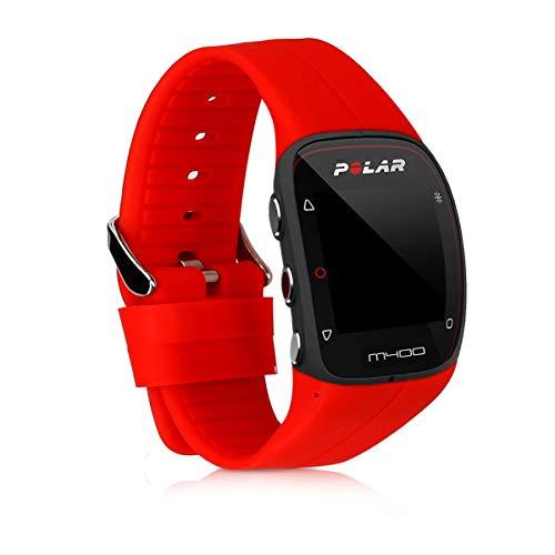 kwmobile Pulsera para Polar M400 / M430 - Brazalete de [Silicona] en [Rojo] sin Fitness Tracker