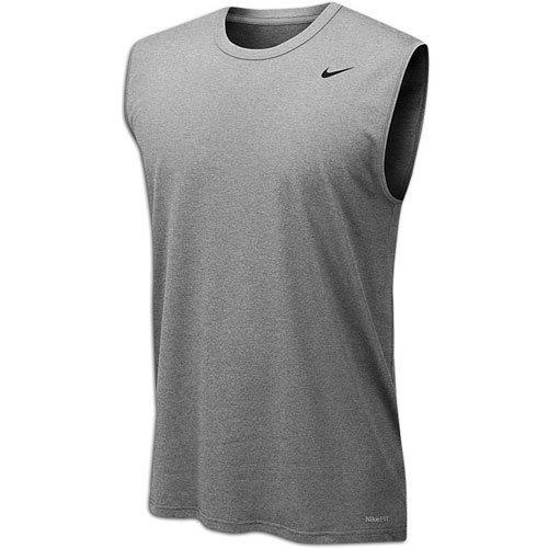 Nike Legend Dri-Fit 2.0 Men's Sleeveless Tank Top Gray Size XL (Dri-fit-sleeveless Tee)