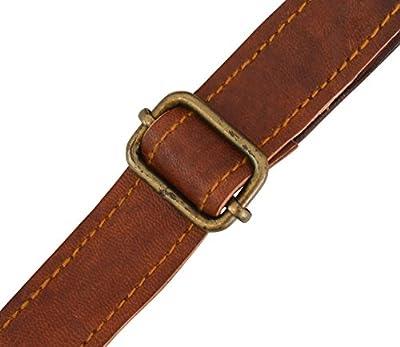 Gusti Sac à main en cuir - Summer Sac à bandoulière Petit Sac en cuir marron