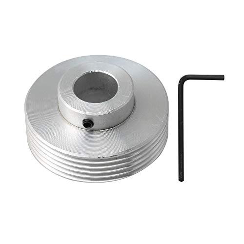Yibuy Riemenscheibe, 50 x 15 x 22 mm, V-Typ, 15 mm Bohrung für Industrieteile
