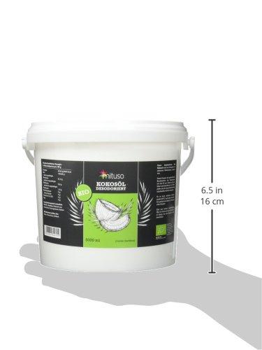 mituso Bio Kokosöl, Geschmacksneutral (desodoriert), 1er Pack (1 x 5000 ml) - 4