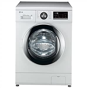 LG fh2g6tdn2 Independent Front Loading 8 kg 1200rpm A + + + White – Washing Machine (Freestanding, Front Loading, A + + +, B, White, Left)