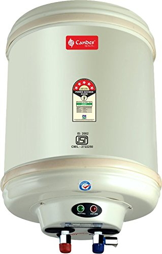 Candes Storage Electric Water Heater (Metal,Stainless Steel Tank, 25 LTR)
