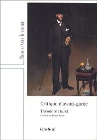 Critique d'Avant-Garde par Théodore Duret