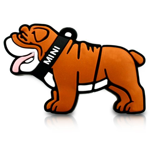818-Shop No11400040038 Hi-Speed (USB 3.0 8GB) Speichersticks Hund Bulldog 3D braun -