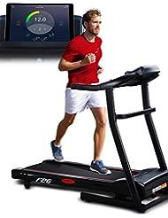 Sportstech F26 & F31 Profi Laufband mit Smartphone App Steuerung Pulsgurt im Wert von 39,90 € inklusive - MP3 AUX Bluetooth 4 PS 16 km/h HRC Training – kompakt klappbar verstaubar