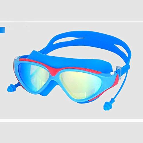 Elviray BH007 Erwachsene Männer Frauen Anti-Fog wasserdichte UV-Schutz Outdoor Indoor Swimming komfortable Brille Glas