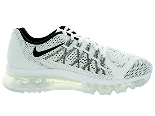 Nike Air Max 2015, Chaussures mixte enfant White/Black