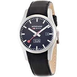 Mondaine Herren-Uhren Quarz Analog A667.30340.14SBB