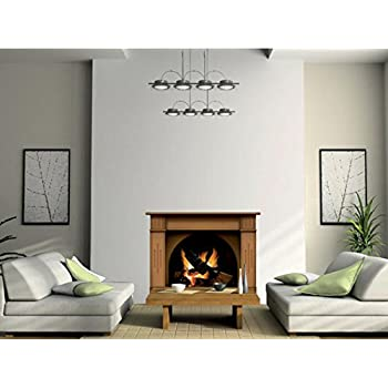 Bon Vinyl Fireplace Wall Sticker   Wallpaper Graphic Decoration For Bedroom Or  Living Room In Your Apartment