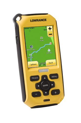 Lowrance - Endura Out & Back, GPS, colore: Giallo