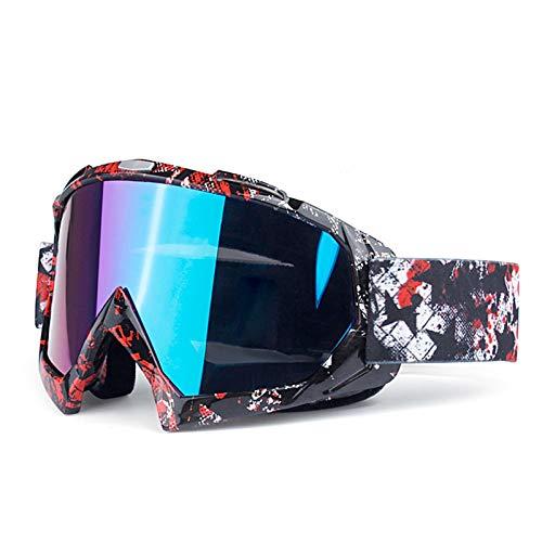 Preisvergleich Produktbild Radbrille Clear Späne Motorradbrillen Skibrillen Off Road Brillen Reitbrillen Style L Damen Herren