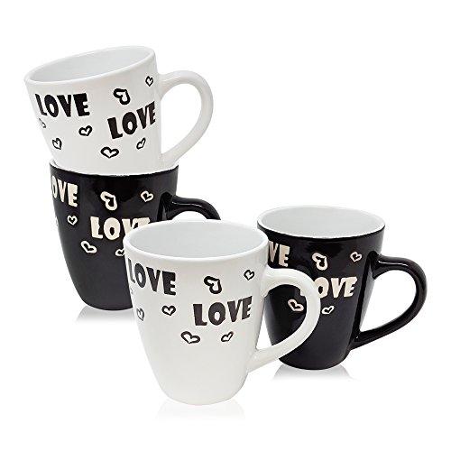 COM-FOUR® 4x tasse à café \\