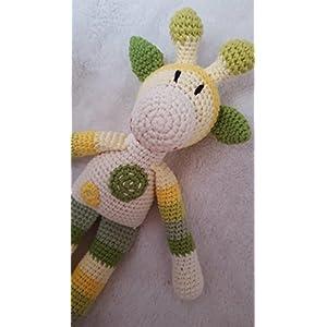 Häkeltier Giraffe - BIO-Baumwolle - handgemacht