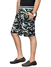 SAPPER Military Mens Cotton Cargo Shorts Camouflage Camo Army Shorts For Men