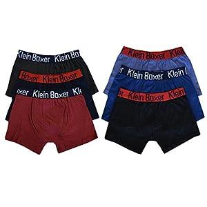 6 o 12 PAIA RAGAZZI BOXER MISTO COTONE DI MARCA Pantaloncini Mutande boxer 5-13 - 6 BOXER / BOXER, 11-12 yrs