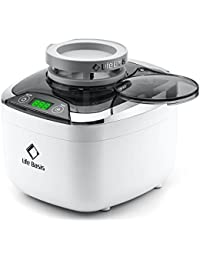 Ultrasonic Jewellery Cleaner LifeBasis 870ml Professional Ultrasonic Bath Machine for Jewelry Silver Ring Earring with 500ml Beaker and Cover