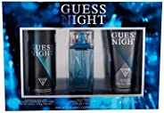 GUESS Night Men's Eau de Toilette Perfume, 100 ml + 200 ml Shower gel + 226 ml Body Spray