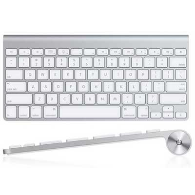 Apple Wireless Keyboard MC184LL/A Qwerty