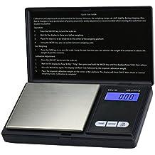 Dual Kapazität LCD Mini Digital Waage Tasche Schmuck Feinwaage Juwelierwaag Gold