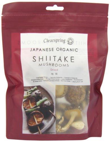 Clearspring Champignons Bio Shiitake 40 g - Lot de 2