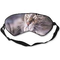 Eye Mask Eyeshade Cat Paw Sleep Mask Blindfold Eyepatch Adjustable Head Strap preisvergleich bei billige-tabletten.eu
