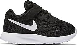 Nike Unisex-Kinder Tanjun (TDV) Sneaker, Schwarz (Black White 011), 27 EU
