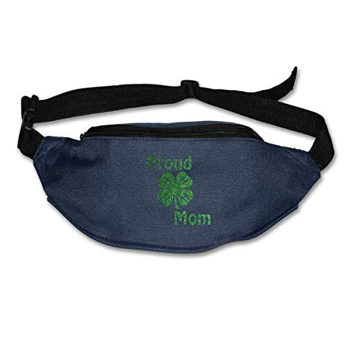 Waist Bag Fanny Pack Proud Mom Pouch Running Belt Travel Pocket Outdoor Sports Camo Quilt