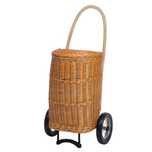 Andersen Shopper Korb Natura XXL 50 Liter, creme, ohne Innenauskleidung