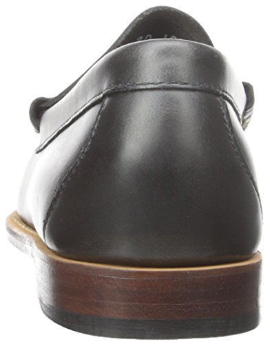 GH Bass & Co Larson Leder Slipper Navy