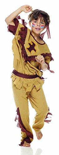 Rubies IT30004-M Traje de fantasía para niños - Trajes de fantasía para niños (Disfraz, Traje Nacional, Hindi, Niño, Marrón, Imagen)