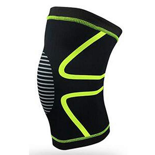 AYEMOY Kniebandage, Bequem Sport Kompression Knieschoner für Gelenkschmerzen und Arthrose Relief, Elastische Atmungsaktiv Kniestütze für Fitness, Krafttraining, Gewichtheben