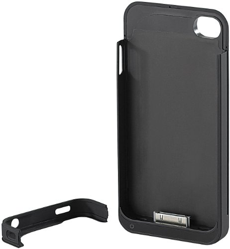 Callstel Schutzcover mit 1600-mAh-Akku iPhone 4/4s, Apple-zertifiziert