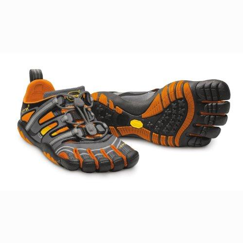 Vibram FiveFingers Treksport Sandales - Femmes Doigt de pieds chaussure Extérieur / Loisir - Grey/Aqua/Black