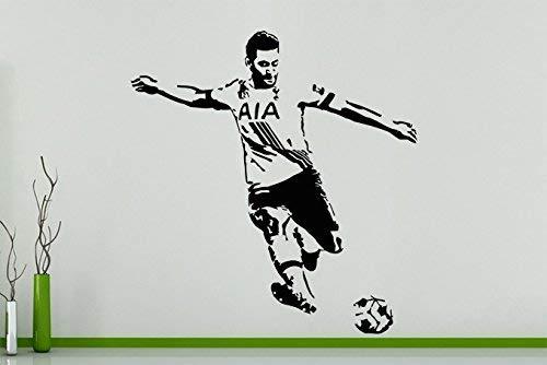 Moussa Dembele Belgique Footballeur Football Joueur Art Mural Autocollant Image - Noir, 30 cms wide x 32 cms high